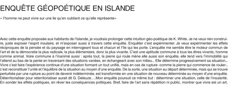 marijo foehrle islande texte